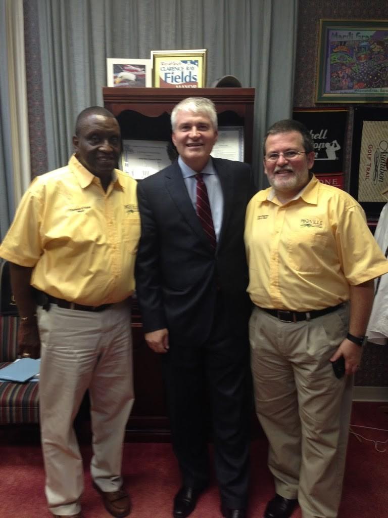 Louisiana Mayors Convention (with Mayor of Prineville)