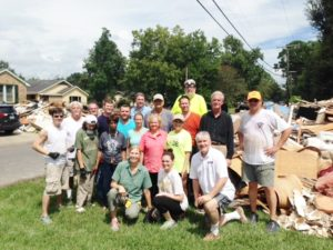 Worked with Disaster Response Team in Baton Rouge